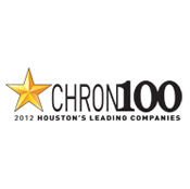 CHRON100 2012 Houston's Leading Companies logo